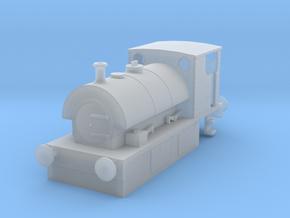 b-148fs-guinness-hudswell-clarke-steam-loco in Smooth Fine Detail Plastic