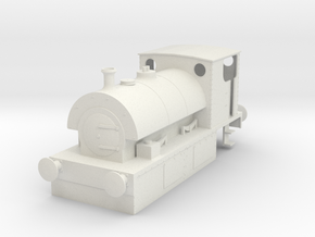 b-35-guinness-hudswell-clarke-steam-loco in White Natural Versatile Plastic