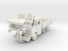 1/87 Conrail GMC/Grumman work truck in White Natural Versatile Plastic