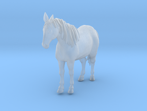 Horse Standing in Smooth Fine Detail Plastic
