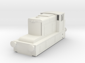b-64-guinness-hudswell-clarke-diesel-loco in White Natural Versatile Plastic