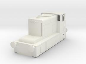b-35-guinness-hudswell-clarke-diesel-loco in White Natural Versatile Plastic