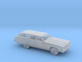 1/160 1976  Oldsmobile Custom Cruiser Wagon Kit in Smooth Fine Detail Plastic