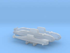 ISRAELI SUBS FH - 1250 in Smooth Fine Detail Plastic