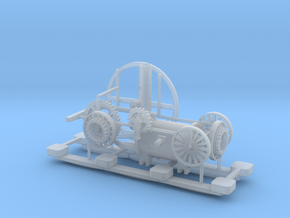 00 Scale Coalbrookdale Engine in Smooth Fine Detail Plastic