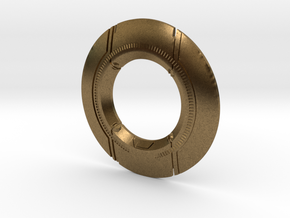 TRON: Legacy Identity Disk in Natural Bronze