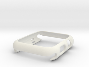 Apple Watch S1 42mm in White Natural Versatile Plastic