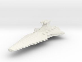 Micromachine Star Wars Venator class in White Natural Versatile Plastic