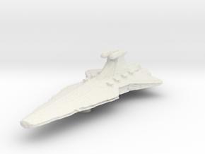 Micromachine Star Wars Venator class in White Natural Versatile Plastic