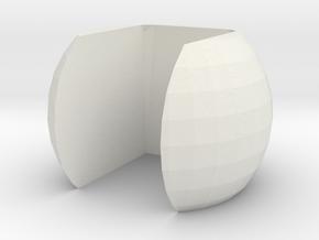 Lock for Unibody Axe - Lock  B in White Natural Versatile Plastic