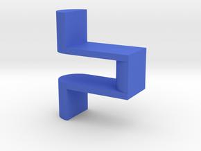 Tuning Fork Attachment - Feb 2020 Version in Blue Processed Versatile Plastic