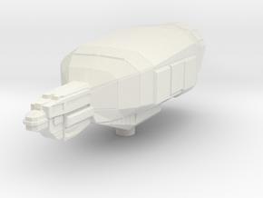 Micromachine Star Wars Star Galleon class in White Natural Versatile Plastic