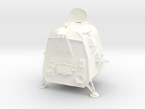 Lost in Space Pod In-Flight  1/72 in White Processed Versatile Plastic