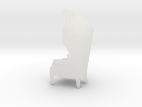 "Armchair-Roof 1/2"" Scaled in Smooth Fine Detail Plastic: 1:24"