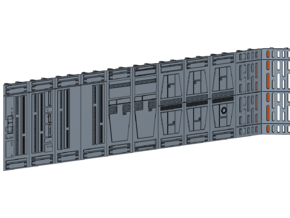 D-STAR WALLS 1/72 in Smooth Fine Detail Plastic