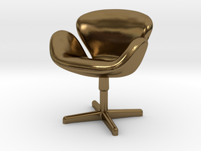 Arne Jabobson - Swan Chair in Polished Bronze