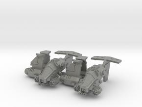 """6mm """"Talonstorm"""" VTOL Gunship (2pcs) in Gray PA12"""