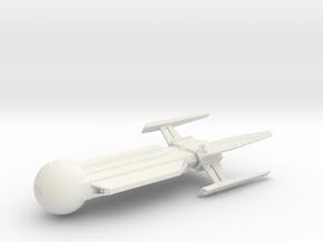 1/7000 USS Hiawatha NCC-815 Concept in White Natural Versatile Plastic