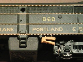 16 No. Re-Railers Type 1 Hanging N Scale 1:160 in Smooth Fine Detail Plastic