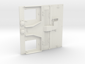 1/16 Scale M51 Engine Deck in White Natural Versatile Plastic