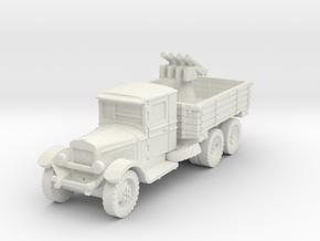 Zis-6 AA (Quad Maxim MG) 1/56 in White Natural Versatile Plastic