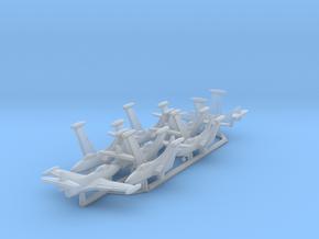 F9F-5 w/Gear x8 (FUD) in Smooth Fine Detail Plastic: 1:700