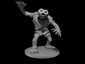 Skeleton Owlbear in White Natural Versatile Plastic