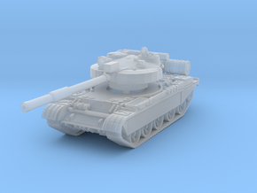 T-62 M Tank 1/220 in Smooth Fine Detail Plastic