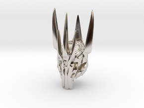 Sauron helmet  in Platinum