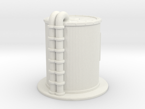 Oil Cistern 1/144 in White Natural Versatile Plastic