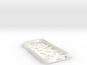 Iphone 5/5s Stix Case in White Processed Versatile Plastic