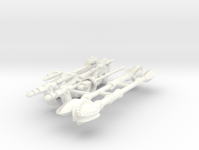 WEAPONS JC  in White Processed Versatile Plastic