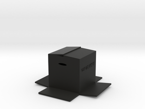 BOX in Black Strong & Flexible