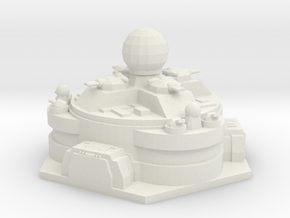 Outpost - Command Center in White Natural Versatile Plastic