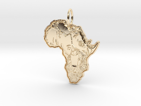 ANIMALS OF AFRICA in 14K Yellow Gold
