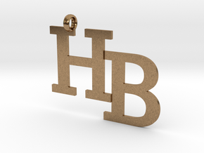 HB charm - Go Bobcats! in Natural Brass