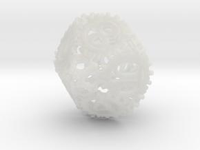 Static Gear Die (D10) in Smooth Fine Detail Plastic