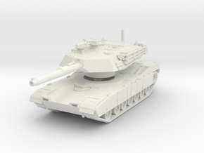 M1A1 AIM Abrams (early) 1/100 in White Natural Versatile Plastic