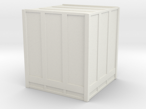 Large Shipping Crate 1/35 in White Natural Versatile Plastic