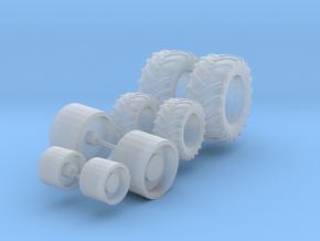 Reifen für Häcksler in Smooth Fine Detail Plastic
