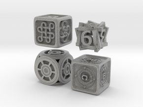 Dice Bundle 01 in Metallic Plastic