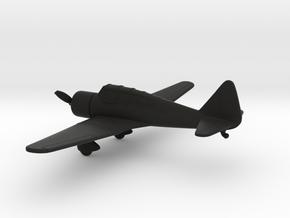 Tachikawa Ki-36 Ida in Black Natural Versatile Plastic: 1:160 - N