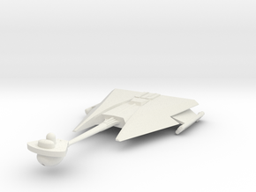 3788 Klingon D-10 class in White Natural Versatile Plastic