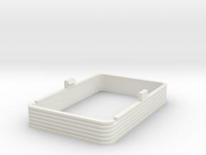 Wadloper DH2 bakovergang (Scale 1:45) in White Natural Versatile Plastic
