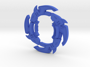 Bey Sharkrash Attack Ring in Blue Processed Versatile Plastic