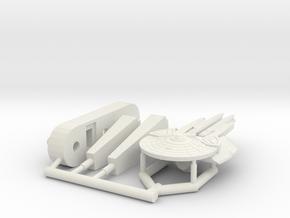 6K Andor Missile Cruiser in White Natural Versatile Plastic