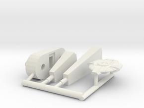 6K Defiant  in White Natural Versatile Plastic