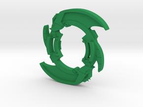 Bey Vanishing Moot Attack Ring in Green Processed Versatile Plastic