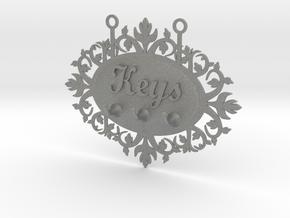 Keys Hanger in Gray PA12