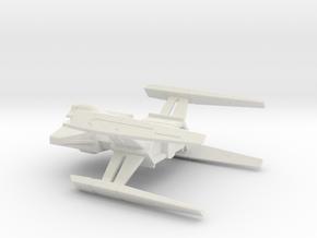 USS Hiawatha (NCC-815) Concept Rear / 17.8cm - 7in in White Natural Versatile Plastic